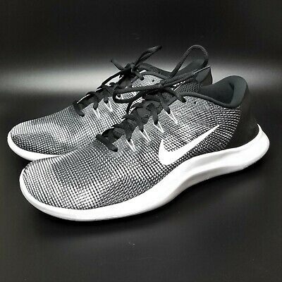 931042031c6f Nike Flex 2018 RN Running Shoes Black White AA7397 001 Mens Size 13 In Box  NEW