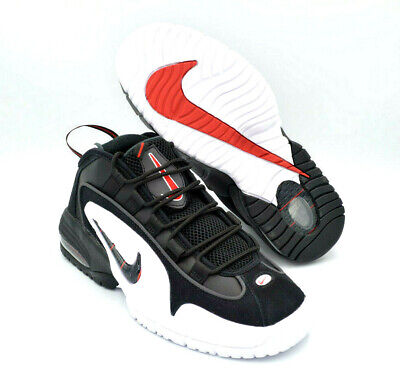9811adc52c2d1b NIKE AIR MAX Penny 1 Hardaway Black White Red Mens Shoes  685153-003 ...
