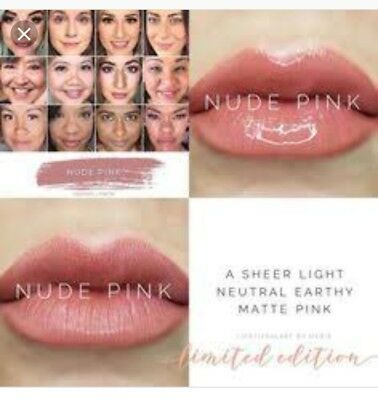 Genuine lipsense limited edition nude pink kiss proof smudge proof long lasting