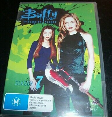 Buffy The Vampire Slayer Complete Season Seven 7 (Australia Region 4) DVD – New