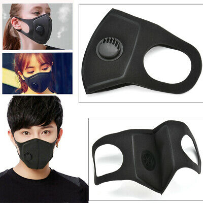 Air Purifying Face Mask Cover Multi Layer Anti Dust Mouth Muffle Filter