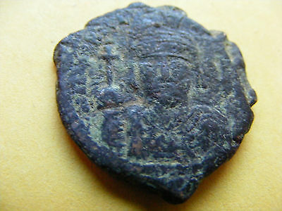 Large (28mm) Byzantine coin, Eastern Roman Empire,Ancient   Romaion.(16-A)