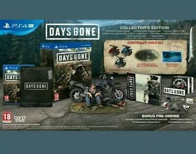 days gone collector's edition PS4 preordine del 26/04/2019