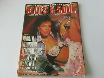 blues and soul magazine issue 547 oct 1989