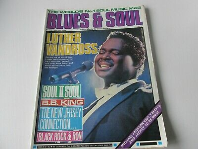 blues and soul magazine issue 532 april 1989