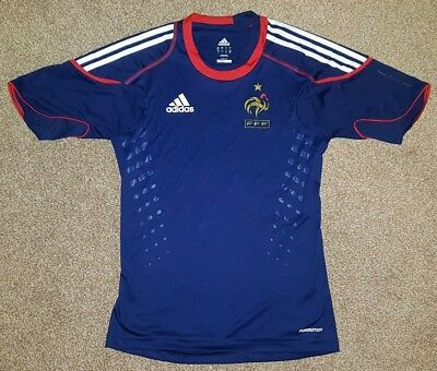 Official Adidas France Home Football Jersey Size Small S VGC