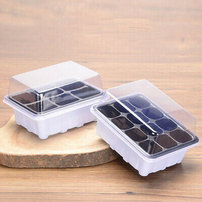 Greenhouse Seedling Starter Tray Organic Plant Trainer Germination Peat Pots Gre