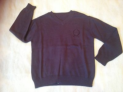 NEW***Quality Boy Knit Long Sleeve Top/Jumper***Charcoal***Size 6