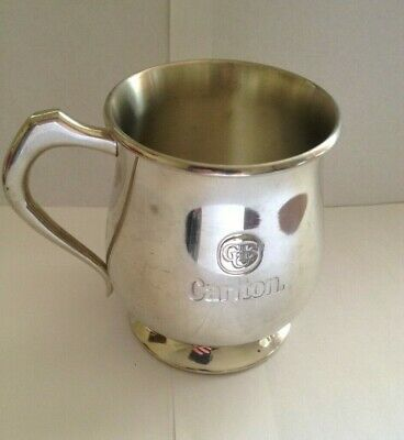 Carlton Brewery CUB Stein Tankard Pewter Collectable Man Cave
