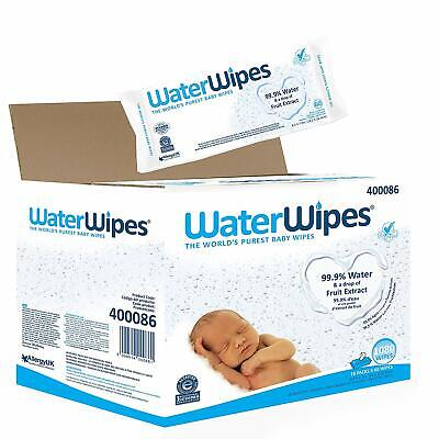 Water Wipes Sensitive Skin Natural Chemical Free Baby Wipes 240 540 or 720 Wipes