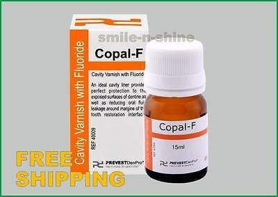 Dental Varnishl Fluoride Varnish Copal F Cavity Varnish 15ml