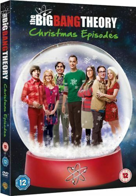 The Big Bang Theory: Christmas Episodes DVD (2013) Johnny Galecki New