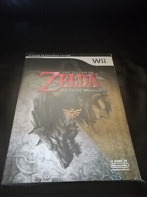 Guide Legend Of Zelda Twilight Princess Neuf Sous Blister