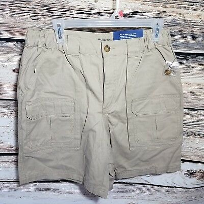 Size 42 Men/'s Croft /& Barrow Relaxed-Fit Side-Elastic Cargo Shorts NWT
