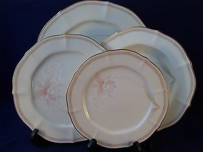 Noritake Ivory China Imperial Blossom Baroque 4 piece Place Setting Japan 7294