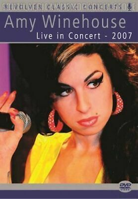 AMY WINEHOUSE - Live in Concert 2007 - South African Music DVD *NEW*