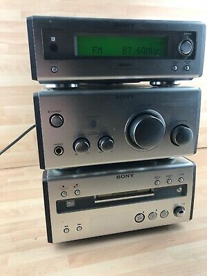 Sony CMT-SP55  3 TIER HI-FI  SYSTEM CD TUNER MINI DISC AMP Micro RARE