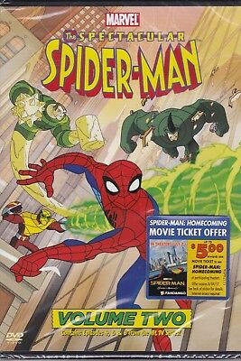 The Spectacular Spider-Man Vol. 2 Animated Series (DVD, 2009)