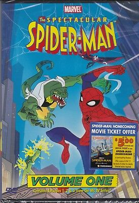 The Spectacular Spider-Man Vol 1 Animated Series (DVD, 2009)