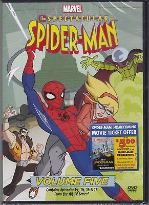 The Spectacular Spider-Man Vol 5 Animated TV Series (DVD, 2009)