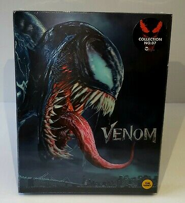 VENOM [4KUHD + 2D + BONUS DISC] Blu-ray STEELBOOK  [WeET COLLECTION] LENTI. #047