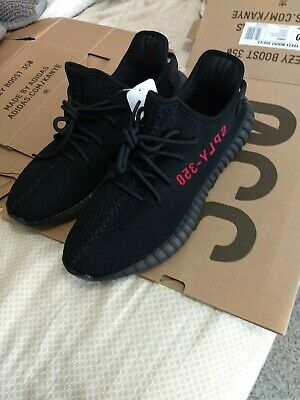 7f1717f0e ADIDAS YEEZY BOOST 350 V2 Bred size 11 -  550.00