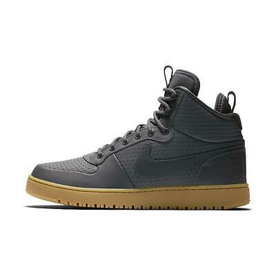 2992190aa15 NIB MEN S NIKE COURT BOROUGH MID TOP SNEAKER Ebernon Shoes AA0547 ...