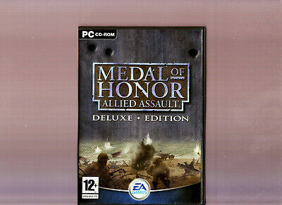 Medal Of Honor Allied Assault Deluxe Edition. Superb Fps For Pc. Original Set!!