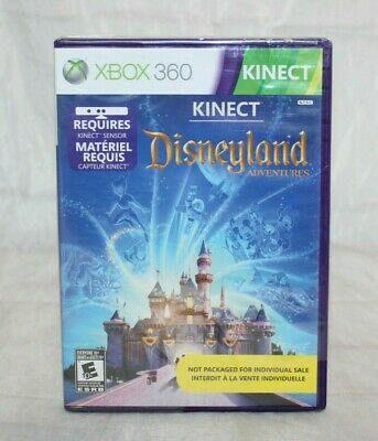 Kinect Disneyland Adventures (Microsoft Xbox 360, 2011) Brand New Factory Sealed