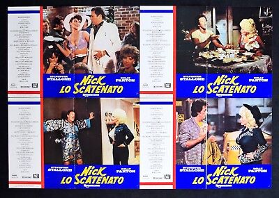 H63 Lot Fotobusta Nick Lo Unleashed Sylvester Stallone Dolly Parton