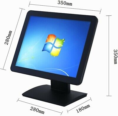 "15""  CAPACITIVE  Touch Screen LCD Monitor is designed for POS Systems"