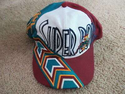 VINTAGE 90s Super Bowl XXX Snapback Hat SEWN Logo 7 One Size Fits All Over  Print 5996280c8