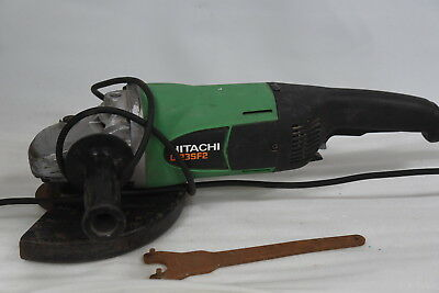 Hitachi G23SF2 230mm Angle Grinder with Key and ~10 Discs -240V 2000W Corded