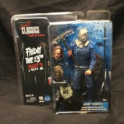 Friday the 13th Part 2 Jason Vorhees Neca Cult Classics Hall of Fame Sealed