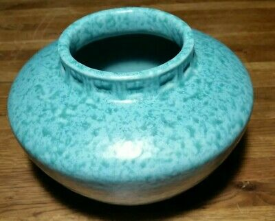 Roseville Pottery Imperial II Turquoise Vase A200 Circa 1930s Arts & Crafts