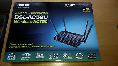 ASUS DSL-AC52U Dual Band Wireless ADSL/VDSL Modem Router