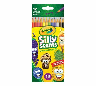 Crayola Silly Scents Colour Pencils 12 Scented Colour Pencils