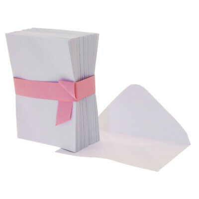 WHITE SMALL FLORIST CARD ENVELOPES Floral Craft Gift Craft Event Wedding Flowers