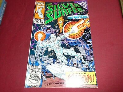 SILVER SURFER #68 Marvel Comics 1992 NM