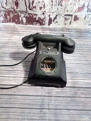 Antique Vintage Old Gpo Bakelite Call Exchange Telephone Drawer  Project Spares