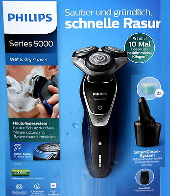 NEUWARE # Philips Series 5000 s5572 Rasierer AquaTec MultiPrecision Turbo+ Modus