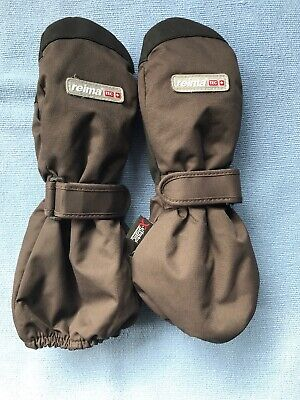 Reimatec Childrens Mittens Brown - Size 1 (2-4 Years)