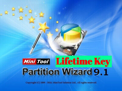 MiniTool Partition Wizard 9.1 ✔Key License ✔INSTANT DELIVERY✔ [Digital Download]
