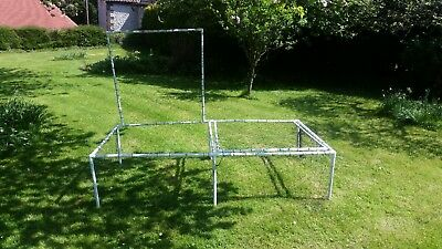Lifting lid strawberry fruit cage 2m by 1m easy access without unpegging netting