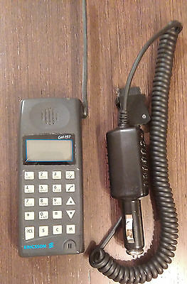 ERICSSON GH 197 Mobile Phone GH-197 Black Unlocked