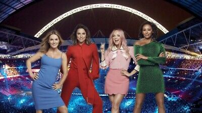 SPICE GIRLS TOUR 2 x tickets SAT TOGETHER Etihad Manchester 29th May 2019