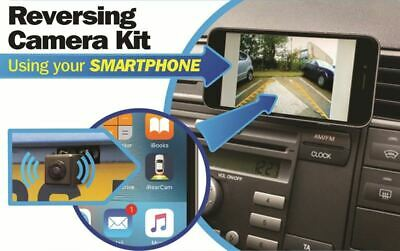 Streetwize Smartphone Wireless Vehicle Reverse Parking Camera Kit