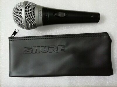 100% Genuine SHURE PG48 Microphone-New with Bag  *1 Year Warranty*  Free UK Post
