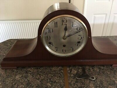 Napoleon Hat Westminster Chimes Mantle Clock By Kienzle
