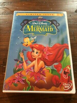 Disney DVD - Limited Edition - The Little Mermaid
